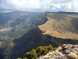 Nationaal park Simien
