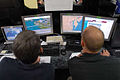 Simulation operators run models of the Hampton Roads area of Virginia as part of Noble Resolve.jpg