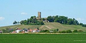 Kraichgau - Steinsberg Castle on the eponymous hill, the highest point of the Kraichgau