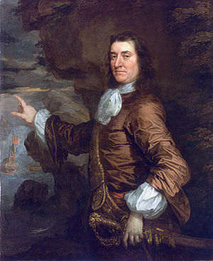 Sir Thomas Allin, 1st Baronet - Sir Thomas Allin, painted by Sir Peter Lely in 1665, part of the Flagmen of Lowestoft series