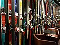 Skis on the wall of restaurant in Queenstown.jpg