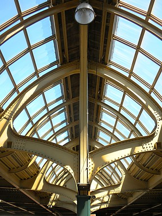30th Street Station - Image: Skylight Tracks 5 6 30th Street