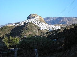 Skyros Island in Greece