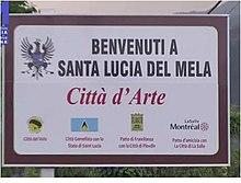 Curva Vasca Da Bagno Wikipedia : Santa lucia del mela wikipedia