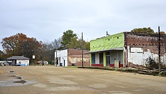 Sledge, Mississippi - Main Street in Sledge
