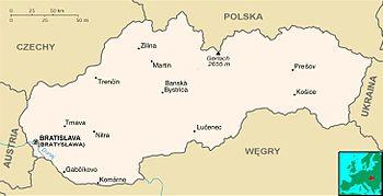 Miasta Na Slowacji Wikipedia Wolna Encyklopedia