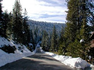 Yosemite West, California - Yosemite West, as seen in winter. In springtime, this area is lush with dogwoods in bloom, and alive with the calls of the jays and squirrels