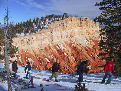 Snowshoers in Bryce Canyon Snowshoers in Bryce Canyon.jpg
