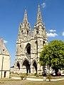 Soissons (02), abbaye Saint-Jean-des-Vignes, abbatiale, vue depuis le sud-ouest.jpg