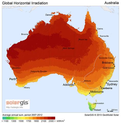File Solargis Solar Map Australia En Png Wikimedia Commons