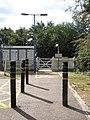 Somerleyton railway station - the entrance - geograph.org.uk - 1505930.jpg