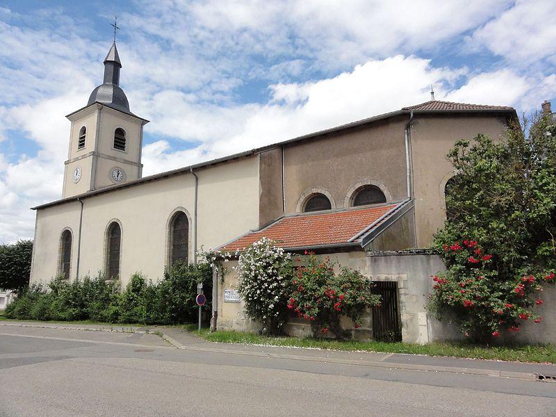 Sornéville (M-et-M) église