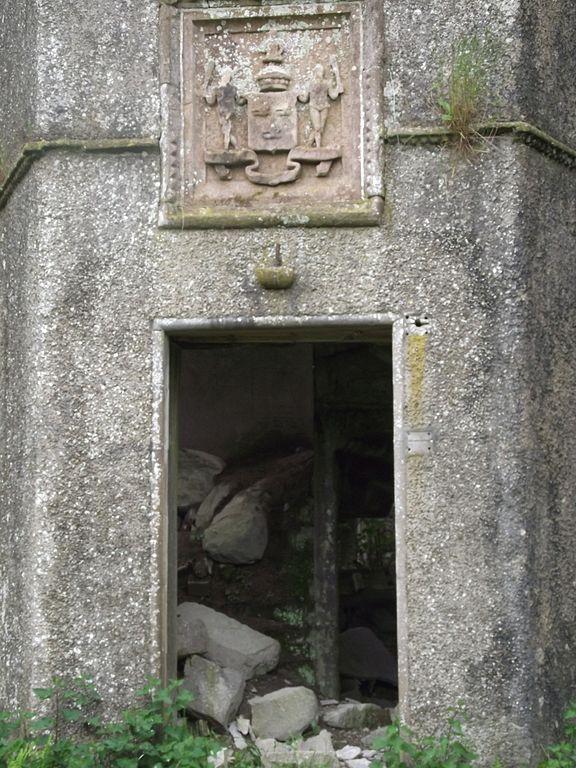 Main door way to Kenmure Castle