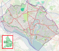 Northam is located in Southampton