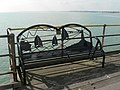 Southend-on-Sea, ornate pier bench - geograph.org.uk - 964336.jpg