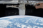 SpaceX CRS-14 Dragon gripped by the Canadarm2.jpg