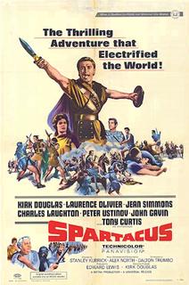 <i>Spartacus</i> (film) 1960 film by Stanley Kubrick