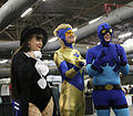 Special Edition NYC 2015 - Zatanna, Booster Gold & Blue Beetle (18359422069).jpg
