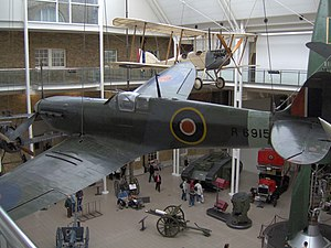 No. 609 Squadron RAF - Spitfire R6915, Imperial War Museum (2005)