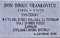 Spomen ploča don Dinku Vrankoviću, Sućuraj, 2008.png