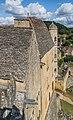 Spur building terrace of the Castle of Beynac 06.jpg