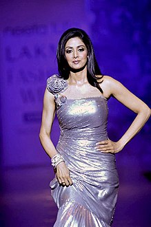 Sridevi at at Neeta Lulla's show for Lakme Fashion Week 2010