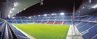 2016 UEFA Europa League Final - The St. Jakob-Park in Basel was selected to host the final in September 2014.