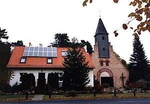 Wandlitz - Image: St Konrad in Wandlitz