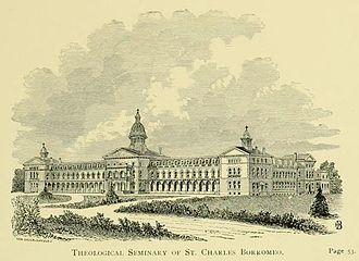 St. Charles Borromeo Seminary - Image: St. Charles Borromeo Hotchkin p.39