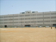The Secondary Section building of St. Michael's Convent School