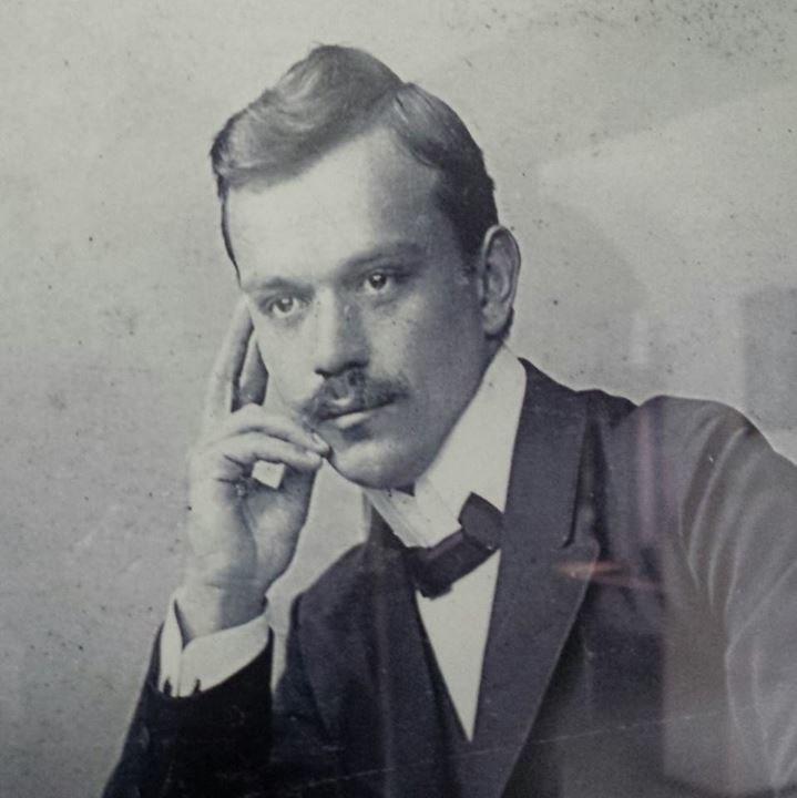 St. Nikolaj Velimirović as a student