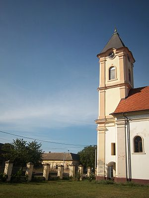 Church of the Holy Venerable Mother Parascheva - Image: St. Petka's Church, Šidski Banovci 2