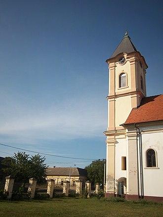 Church of the Holy Venerable Mother Parascheva - Image: St. Petka's Church, Šidski Banovci 2