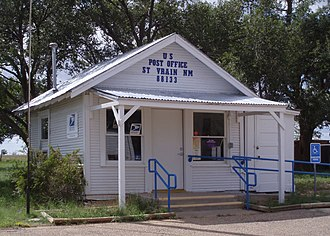 Curry County, New Mexico - St. Vrain Post Office