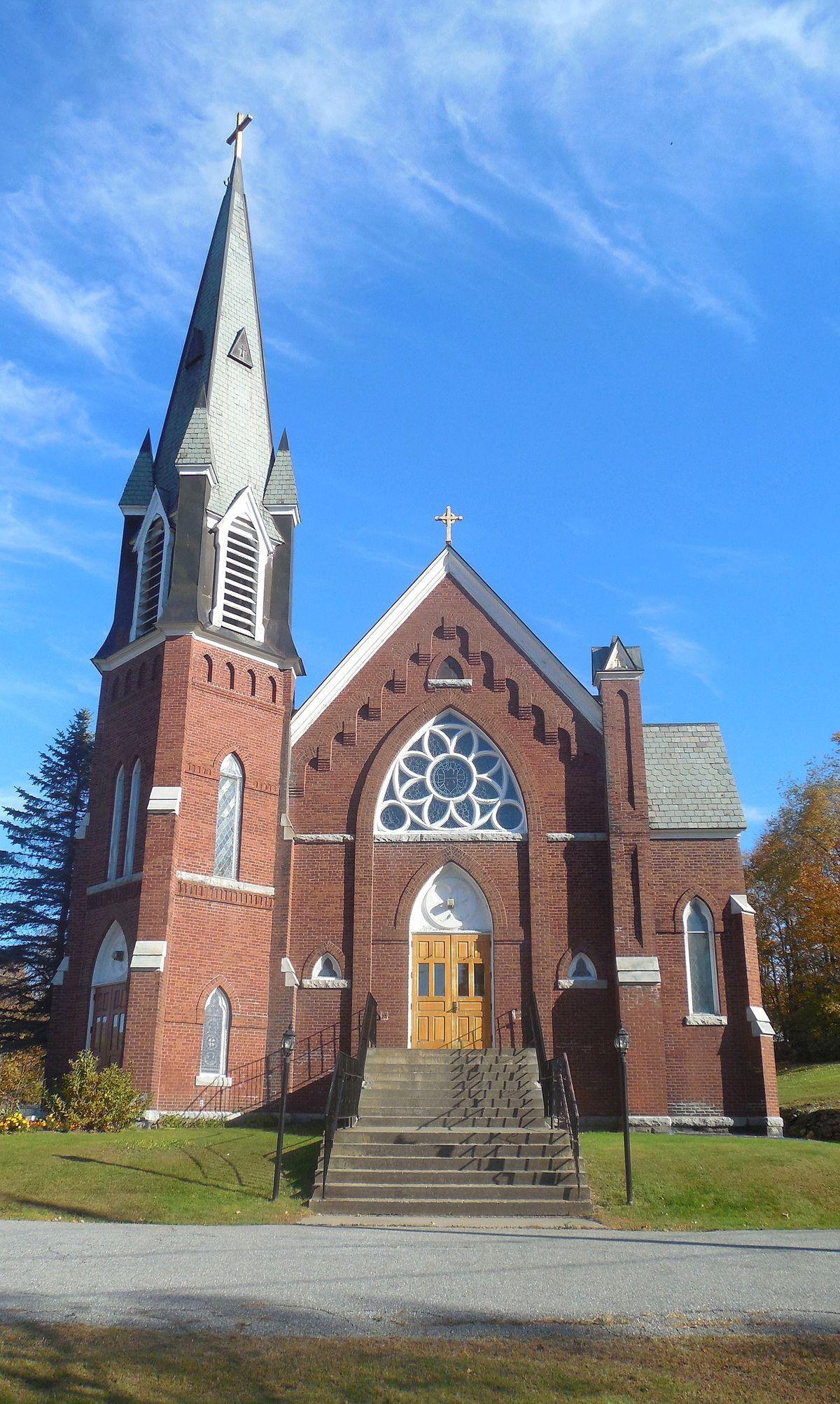 st  thomas church  underhill  vermont