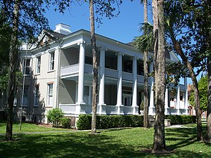 Markland (St. Augustine, Florida) - Markland—Andrew Anderson House facade.