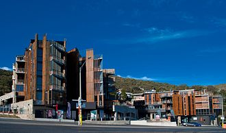 Falls Creek, Victoria - St Falls ski lodge