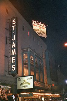 St James Theatre - The Producers.JPG