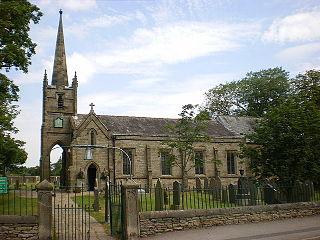 St John the Baptists Church, Bretherton Church in Lancashire, England
