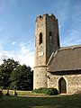 St Mary's church, Ashby, Suffolk - porch and tower - geograph.org.uk - 1507385.jpg