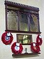 St Mary's church - the war memorial - geograph.org.uk - 1408919.jpg