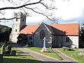 St Mary the Virgin's Church at Selattyn, Shropshire, from the south 01.jpg