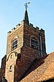St Michael's Church, Theydon Mount, tower from southeast, Essex, England.jpg