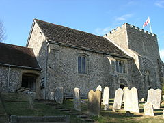 St Nicholas' Church Bramber.JPG