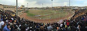 Behnam Mohammadi Stadium - Image: Stadiumnaftmis