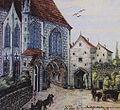 Stadtpfarrkirche Steyr mit Befestigungen.jpg