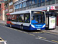 Stagecoach bus 39709 Alexander Dennis Enviro 200 NK58 AGO in South Shields 9 May 2009.jpg