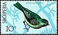 Stamp of Albania - 1971 - Colnect 301813 - European Serin Serinus serinus.jpeg