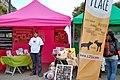 Stand du Refuge GroinGroin, lors de la Vegan Place à Renne, en mai 2015 - Photo de L214 - Éthique & animaux.jpg