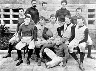 Stanford Cardinal football - The Stanford team of 1892, that would play the first Big Game ever